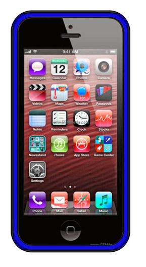 BSC – iP5 Blue/Black