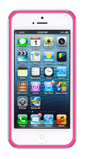 BSC – iP5 Pink/White