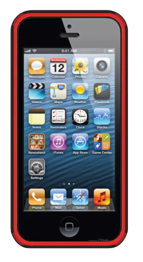 BSC – iP5 Red/Black